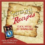 Sugar Cookie & Candy Cane Cookie Recipes from Peter Pan Live