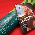 Gaiam Yoga Mat and Workout DVD