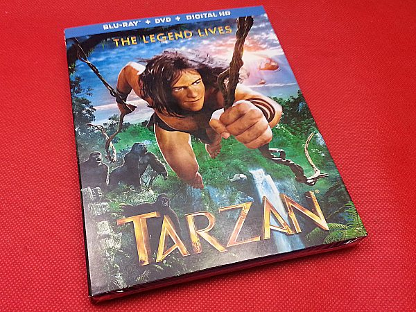 Tarzan: The Legend Lives Blu-ray DVD Combo