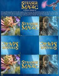 Free Printable Strange Magic Memory Card Game
