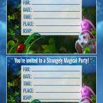 Free Printable Strange Magic Party Invitations