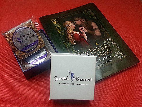 Fairy Tale Book and Fairytale Brownies