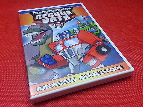 Transformers Rescue Bots: Jurassic Adventure DVD