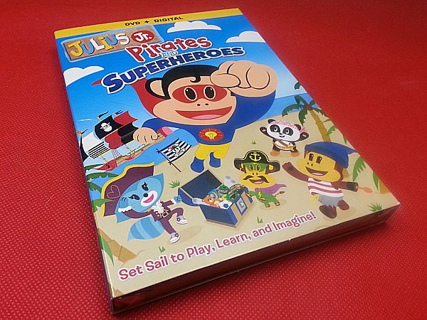 Julius Jr. Pirates and Superheroes DVD