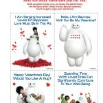 Free Disney Big Hero 6 Printable Valentine's Day Cards