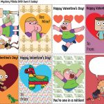 Free Printable Clarence Valentines
