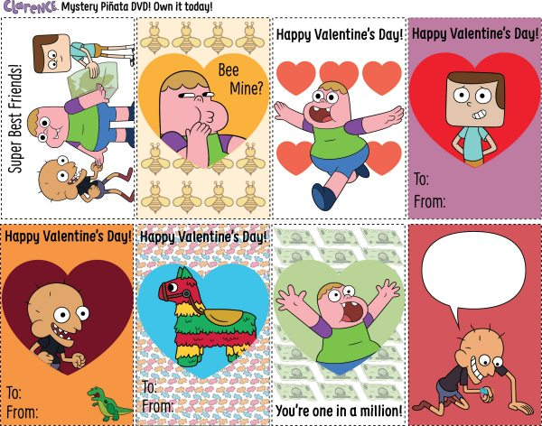 Free Printable Clarence ValentinesFree Printable Clarence Valentines
