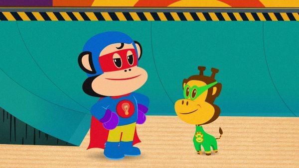 Julius Jr. Pirates and Superheroes