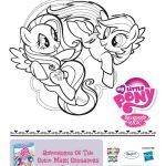 Free Printable My Little Pony Coloring Page