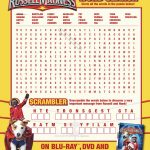 Free Printable Russell Madness Word Search