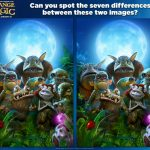 Strange Magic Spot the Differences Activity Page