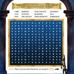 Night at The Museum Word Search