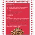 Disney Alexander No Good, Very Bad But Delicious Dessert Recipe