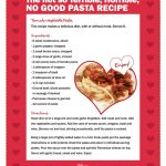 Disney Alexander Not So Terrible, Horrible, No Good Pasta Recipe