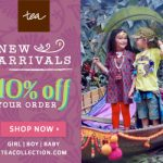 Tea Collection – New Styles and Sizes for Babies and Toddlers