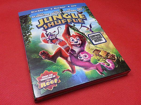 Jungle Shuffle Blu-ray DVD Combo