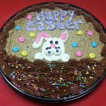 Gourmet Gift Baskets Easter Bunny Cookie Cake