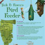 Disney Tinker Bell Bird Feeder Craft