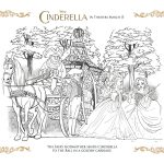 Free Disney Printable – Cinderella's Golden Carriage Coloring Page