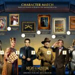 Night at The Museum Printable Matching Activity