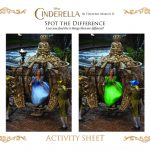 Disney Cinderella Spot the Differences Activity Page