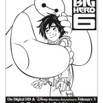 Free Printable Disney Big Hero 6 Coloring Page