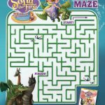 Free Disney Sofia the First Dragon Maze