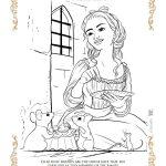Disney Cinderella Printable Coloring Page
