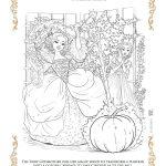 Disney Cinderella Fairy Godmother Printable Coloring Page