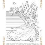 Free Printable Cinderella Coloring Page from Disney