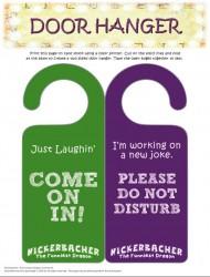 Free Printable Nickerbacher Funniest Dragon Door Hanger Craft