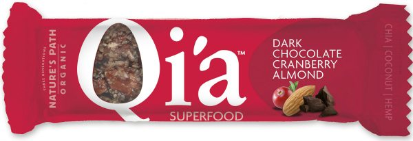 Qi'a Bar - Chocolate Cranberry Almond
