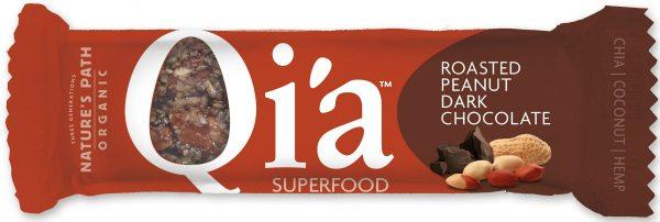 Qi'a Bar -Peanut Dark Chocolate