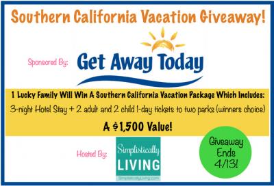 Southern California Vacation Getaway