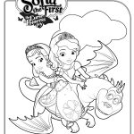 Free Printable Disney Sofia the First Coloring Page