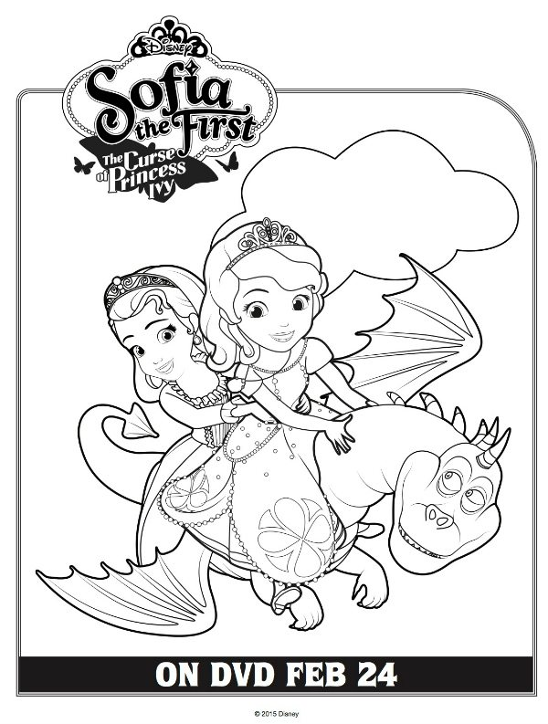 Free printable disney sofia the first coloring page mama for Sofia printable coloring pages