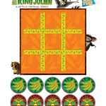 All Hail King Julien Printable Tic Tac Toe Game