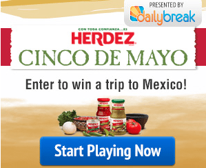 Herdez Mexico Vacation Giveaway – EXPIRED