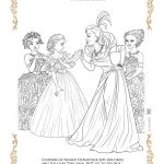 Disney Cinderella Free Printable Coloring Page