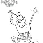 Free Uncle Grandpa Printable Coloring Page