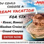 AARP Family Fun Travel Sweepstakes – EXPIRED
