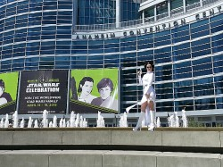 Cosplay at Star Wars Celebration  - Princess Leia