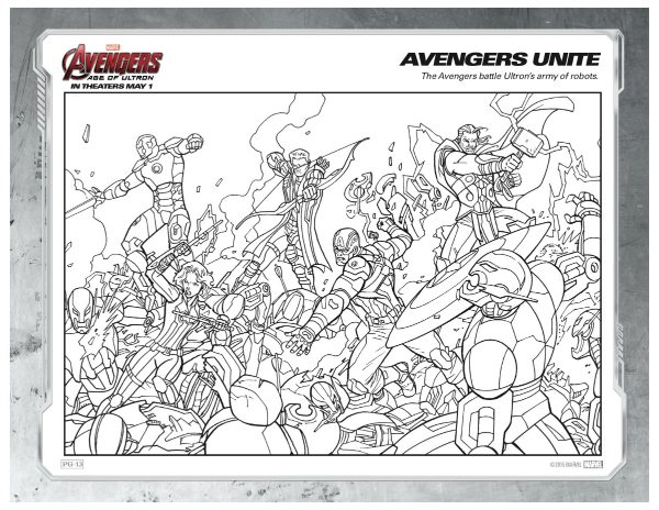 the avengers coloring pages printable marvel