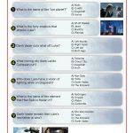 Jedi Training Quiz – Star Wars Episode V: The Empire Strikes Back