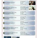 Jedi Training Quiz – Star Wars Episode VI: Return of The Jedi