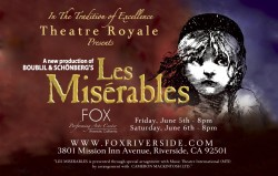 Les Miserables - Fox Performing Arts Center