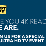 Best Buy 4K Ultra HD In-Store Event & Sweepstakes