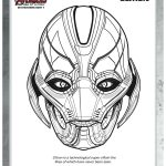 Free Marvel Avengers Ultron Coloring Page
