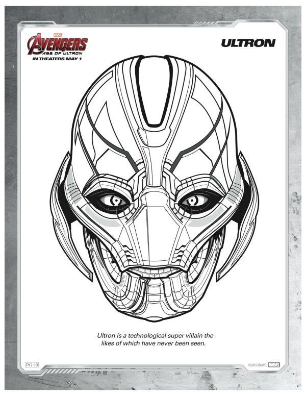 Avengers Villains Coloring Pages