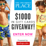 The Children's Place Gift Card Giveaway – EXPIRED